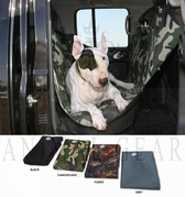 Back seat cover - Animal Gear - Zwart